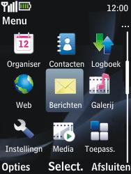 Nokia 2730 classic - MMS - afbeeldingen verzenden - Stap 2