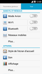 Huawei Ascend Y530 - Bluetooth - connexion Bluetooth - Étape 5