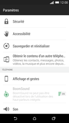 HTC Desire 816 - Aller plus loin - Restaurer les paramètres d'usines - Étape 4