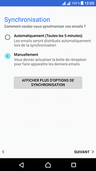 Sony Xperia L1 - E-mails - Ajouter ou modifier un compte e-mail - Étape 21