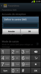 Samsung I9300 Galaxy S III - SMS - Configuration manuelle - Étape 6