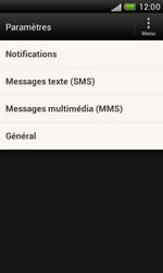 HTC T328e Desire X - SMS - configuration manuelle - Étape 4