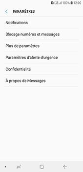 Samsung Galaxy A6 - SMS - configuration manuelle - Étape 6