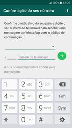 Samsung Galaxy S7 - Aplicações - Como configurar o WhatsApp -  10