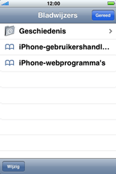 Apple iPhone 3G S met iOS 5 - Internet - Hoe te internetten - Stap 3
