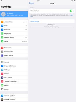 Apple Apple iPad Pro 12.9 - iOS 11 - Device maintenance - Create a backup of your data - Step 12