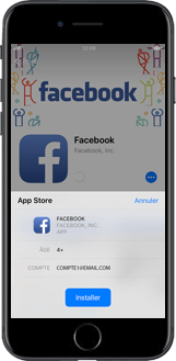 Apple iPhone XS - Applications - Créer un compte - Étape 22
