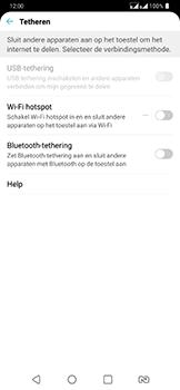 LG g7-fit-dual-sim-lm-q850emw - WiFi - Mobiele hotspot instellen - Stap 4