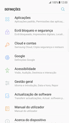 Samsung Galaxy S6 Edge - Android Nougat - Segurança - Como ativar o código PIN do cartão de telemóvel -  4