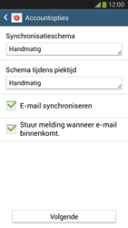Samsung G386F Galaxy Core LTE - E-mail - Account instellen (POP3 zonder SMTP-verificatie) - Stap 17