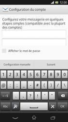 Sony Xpéria Z - E-mails - Ajouter ou modifier un compte e-mail - Étape 6