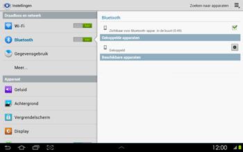 Samsung P5100 Galaxy Tab 2 10-1 - Bluetooth - koppelen met ander apparaat - Stap 10