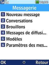 LG G359 - Contact, Appels, SMS/MMS - Envoyer un SMS - Étape 4