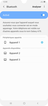 Samsung Galaxy A70 - Bluetooth - connexion Bluetooth - Étape 11