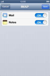 Apple iPhone 4 S - E-mail - Manual configuration - Step 13