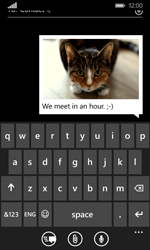 Microsoft Lumia 435 - MMS - Sending a picture message - Step 13