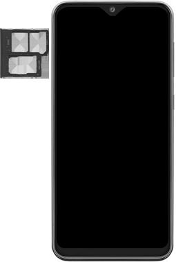 Samsung Galaxy A20e - Device - Insert SIM card - Step 3