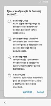 Samsung Galaxy S8 - Android Oreo - Primeiros passos - Como ligar o telemóvel pela primeira vez -  19