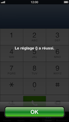 Apple iPhone 5 - Messagerie vocale - Configuration manuelle - Étape 7