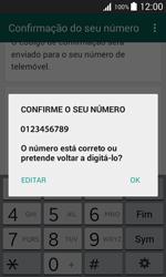 Samsung Galaxy Trend 2 Lite - Aplicações - Como configurar o WhatsApp -  7