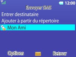 Bouygues Telecom Bc 311 - Contact, Appels, SMS/MMS - Envoyer un SMS - Étape 11