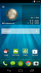 Acer Liquid Jade - SMS - Manual configuration - Step 1