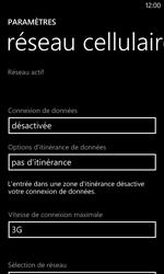 Nokia Lumia 720 - Internet - activer ou désactiver - Étape 7