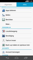 Huawei Ascend P6 (Model P6-U06) - Instellingen aanpassen - Fabrieksinstellingen terugzetten - Stap 4
