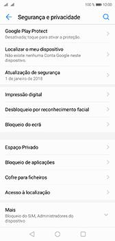Huawei P20 - Segurança - Como ativar o código PIN do cartão de telemóvel -  4