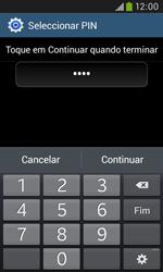 Samsung Galaxy Trend Plus - Segurança - Como ativar o código de bloqueio do ecrã -  9