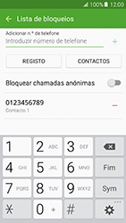 Samsung Galaxy A5 (2016) (A510F) - Chamadas - Bloquear chamadas de um número -  11