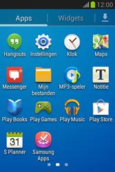 Samsung S6790 Galaxy Fame Lite - Internet - aan- of uitzetten - Stap 3