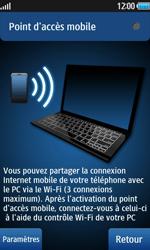 Samsung Wave 2 - Internet et connexion - Partager votre connexion en Wi-Fi - Étape 9