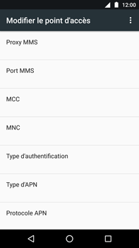 Motorola Moto Z Play - Internet - Configuration manuelle - Étape 15