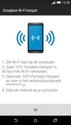 HTC One M8 - WiFi - Mobiele hotspot instellen - Stap 10