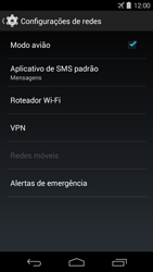 Motorola Moto G - Rede móvel - Como ativar e desativar o modo avião no seu aparelho - Etapa 6