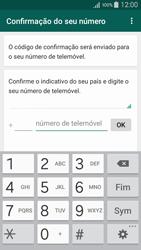 Samsung Galaxy A5 - Aplicações - Como configurar o WhatsApp -  6