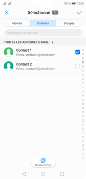 Huawei P20 - Dual SIM - E-mail - envoyer un e-mail - Étape 5