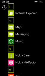 Nokia Lumia 530 - SMS - Manual configuration - Step 3