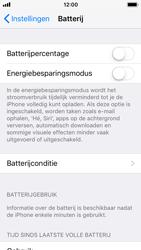 Apple iphone-5s-met-ios-11-model-a1457 - iOS 11 - In-/uitschakelen van de energiebeheerfunctie - Stap 4