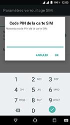 Wiko Tommy 2 - Sécuriser votre mobile - Personnaliser le code PIN de votre carte SIM - Étape 9