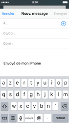 Apple iPhone SE - E-mails - Envoyer un e-mail - Étape 4