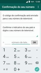 Alcatel Pop 3 - Aplicações - Como configurar o WhatsApp -  6