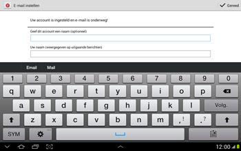Samsung N8000 Galaxy Note 10-1 - E-mail - Handmatig instellen - Stap 17