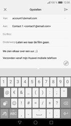 Huawei P9 Lite - E-mail - Bericht met attachment versturen - Stap 10