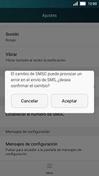 Huawei Y5 - Mensajería - Configurar el equipo para mensajes de texto - Paso 7