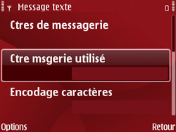 Nokia E63 - SMS - Configuration manuelle - Étape 10
