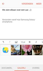 Samsung Galaxy Xcover 3 VE - E-mail - Hoe te versturen - Stap 12