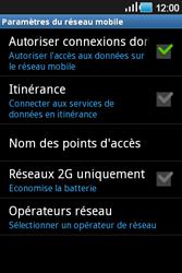 Samsung Galaxy Ace - Aller plus loin - Désactiver les données à l'étranger - Étape 7
