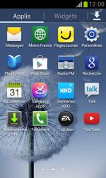 Samsung Galaxy Trend - Aller plus loin - Restaurer les paramètres d'usines - Étape 3